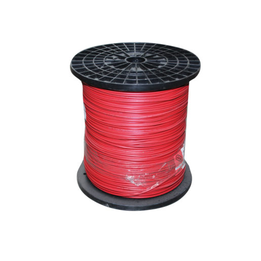 Iusa, Cable THHW-LS RoHS #10 Rojo - 100 Metros, Rollo