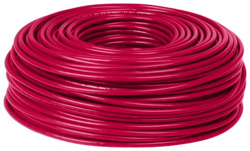 Volteck, Cable Thhw-Ls 10 Awg Rojo 100 m, Rollo